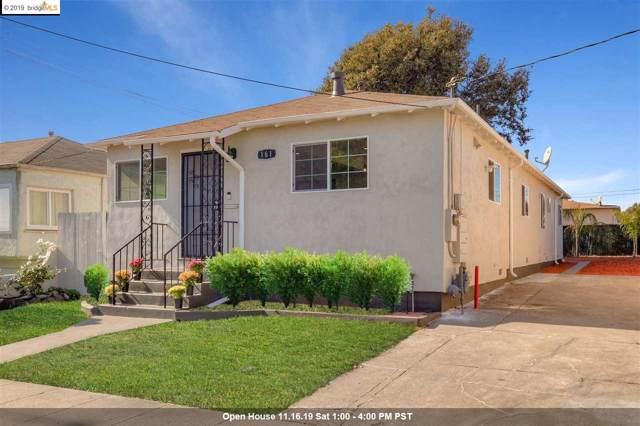 161 S 42Nd St, Richmond, CA 94804 (#40888835) :: Armario Venema Homes Real Estate Team