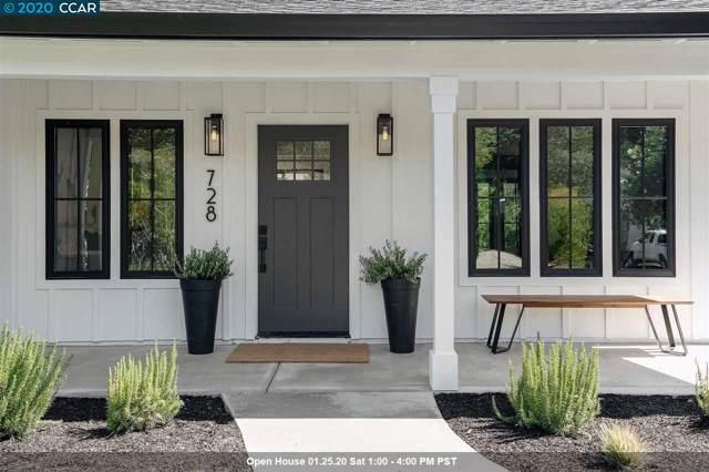 728 Laurel Drive, Walnut Creek, CA 94549 (#40892822) :: Blue Line Property Group