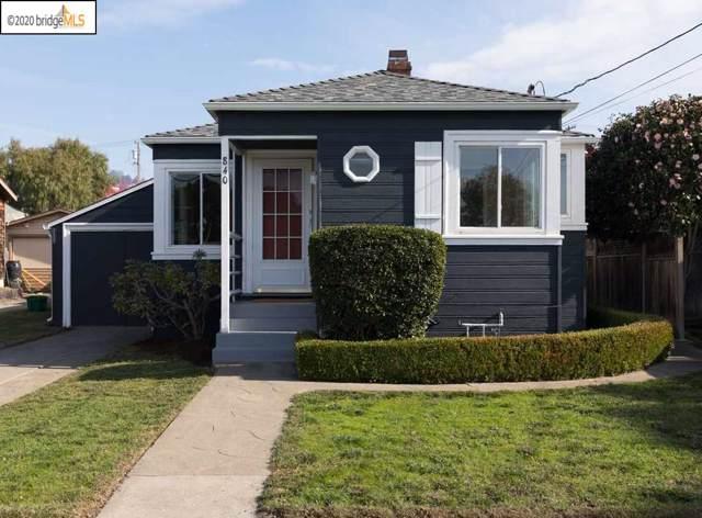 840 Kearney St, El Cerrito, CA 94530 (#40893663) :: Armario Venema Homes Real Estate Team