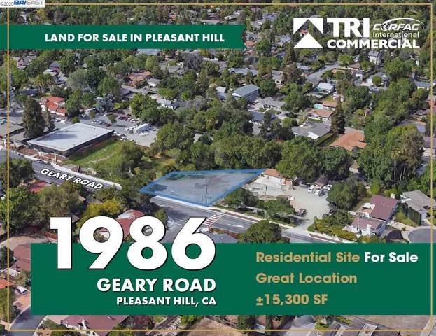1986 Geary Rd., Pleasant Hill, CA 94523 (#40896592) :: The Lucas Group
