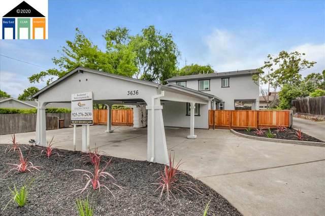 3636 Sanford St, Concord, CA 94520 (#40906542) :: The Grubb Company