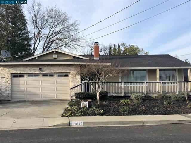 1847 Elkwood Dr, Concord, CA 94519 (#40906599) :: The Grubb Company