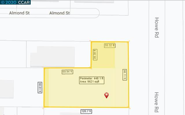 0 Howe Rd., Martinez, CA 94553 (#40910773) :: Armario Venema Homes Real Estate Team