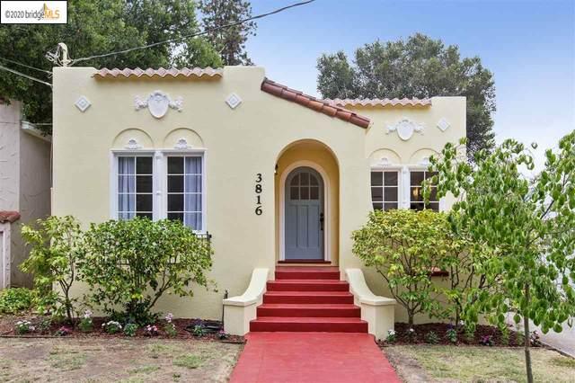 3816 Whittle Ave, Oakland, CA 94602 (#40916191) :: Armario Venema Homes Real Estate Team