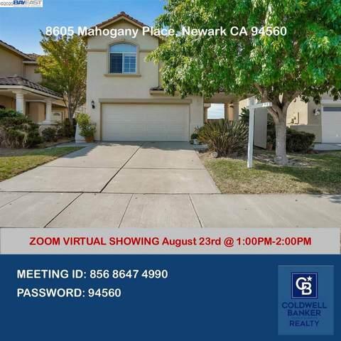 8605 Mahogany Pl, Newark, CA 94560 (#40917358) :: Realty World Property Network