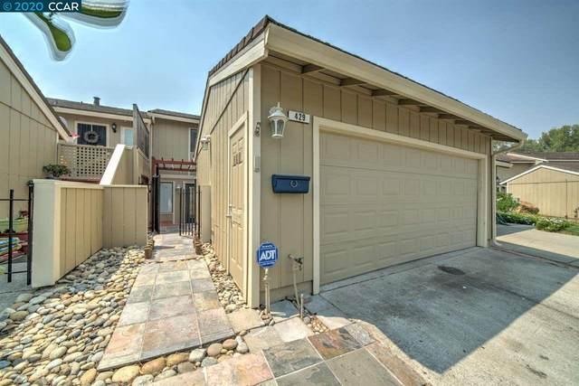 429 Thistle Cir, Martinez, CA 94553 (#40918560) :: Blue Line Property Group