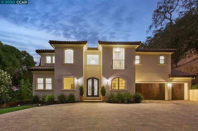 335 Las Quebradas, Alamo, CA 94507 (#40920403) :: Blue Line Property Group