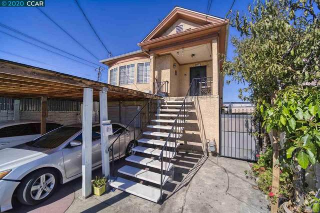 821 34Th Ave, Oakland, CA 94601 (#40922383) :: Realty World Property Network
