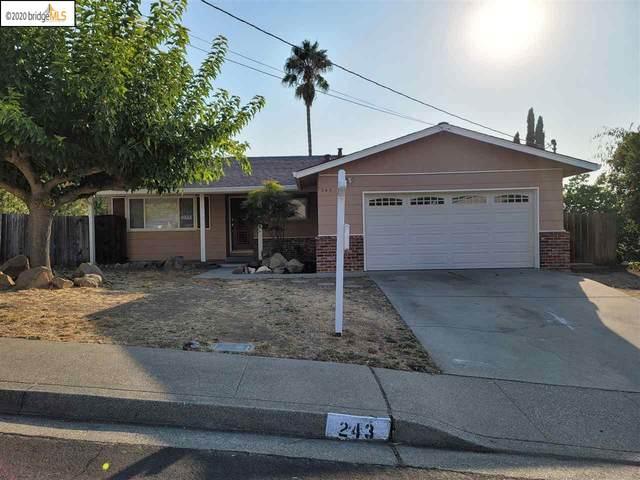 243 Escondido Dr, Martinez, CA 94553 (#40922852) :: Armario Venema Homes Real Estate Team