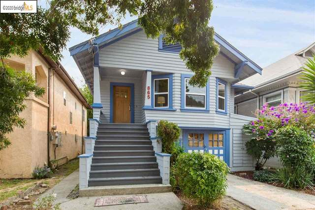 865 47Th St, Oakland, CA 94608 (#40923025) :: Realty World Property Network