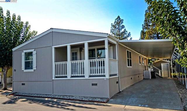 3231 Vineyard Ave. #79 #79, Pleasanton, CA 94566 (#40927699) :: Paradigm Investments