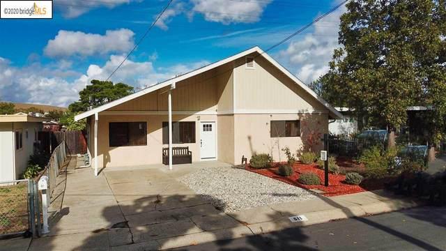 611 Michele Dr, Martinez, CA 94553 (#40929739) :: Blue Line Property Group