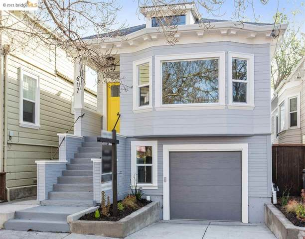 617 59Th St, Oakland, CA 94609 (#40934018) :: Paradigm Investments