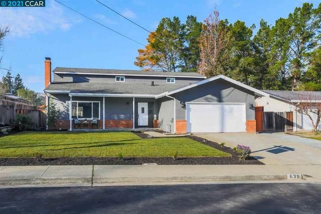 638 Sherree Dr, Martinez, CA 94553 (#40934214) :: Realty World Property Network
