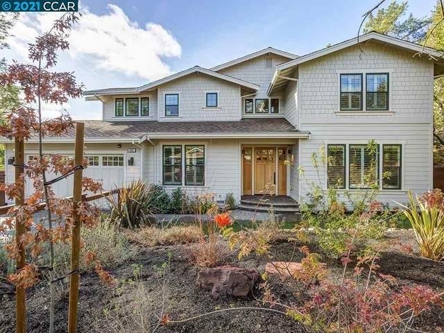 892 Las Trampas Rd, Lafayette, CA 94549 (#40934225) :: Paradigm Investments