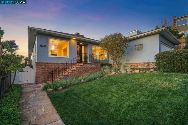 45 Biehs Ct, Oakland, CA 94618 (#40934829) :: Excel Fine Homes