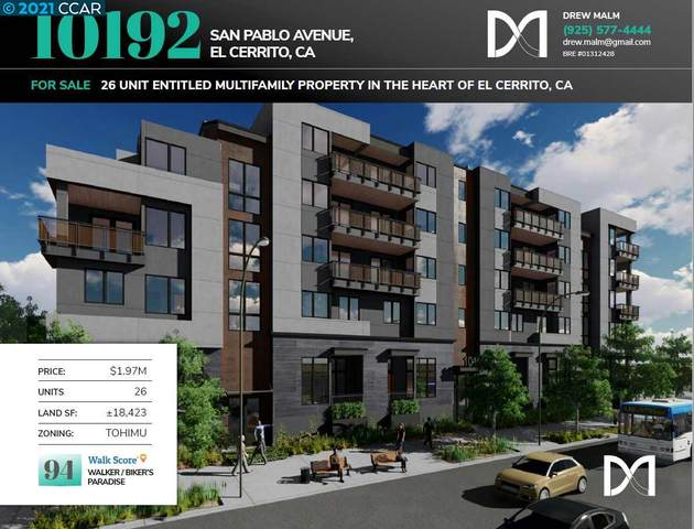 10192 San Pablo Ave, El Cerrito, CA 94530 (#40935789) :: Excel Fine Homes