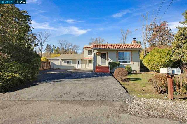 943 Mountain View Drive, Lafayette, CA 94549 (#40936289) :: Blue Line Property Group