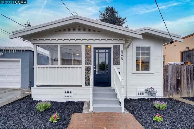 646 20Th St, Richmond, CA 94801 (#40938546) :: Blue Line Property Group