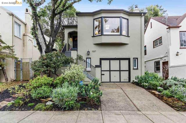1037 Trestle Glen Rd, Oakland, CA 94610 (#40938776) :: Paradigm Investments