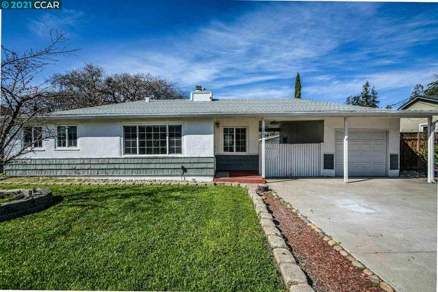 1381 Rosemary Ln, Concord, CA 94518 (#40939305) :: Blue Line Property Group