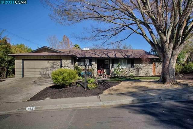 972 Leroy Ln, Walnut Creek, CA 94597 (#40939470) :: Jimmy Castro Real Estate Group