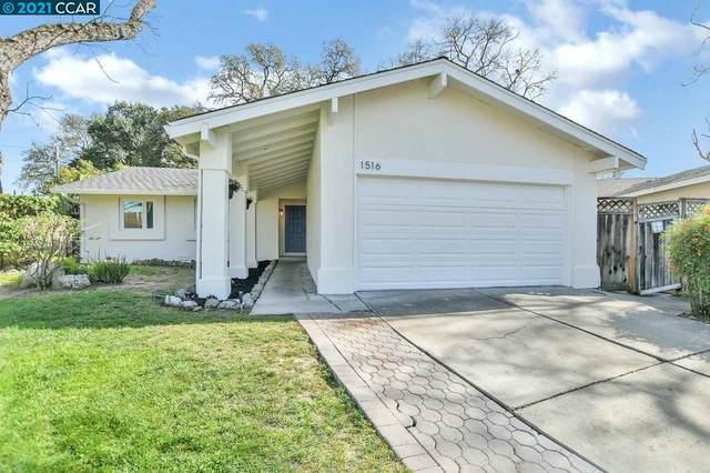 1516 Wicket Ct, Concord, CA 94518 (#40939826) :: Paradigm Investments