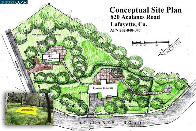 Acalanes Road, Lafayette, CA 94595 (#40943350) :: Realty World Property Network
