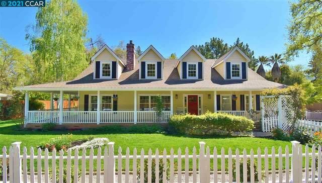 1431 Cedar Ln, Alamo, CA 94507 (#40943528) :: Realty World Property Network