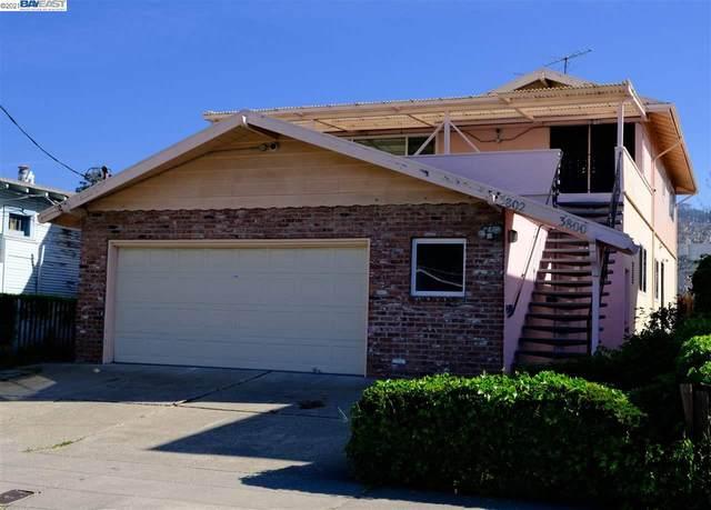 3800 Redding St, Oakland, CA 94619 (#40945077) :: The Venema Homes Team