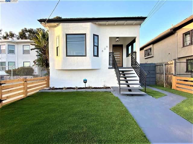 836 47Th St, Oakland, CA 94608 (#40945539) :: Armario Homes Real Estate Team
