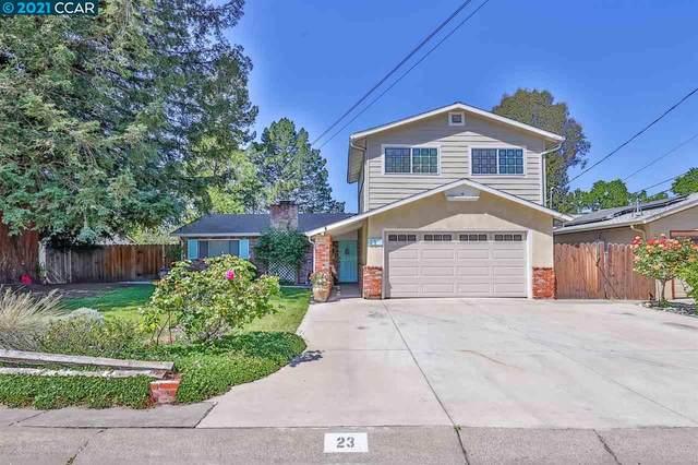 23 Richie Dr, Pleasant Hill, CA 94523 (#40945867) :: Armario Homes Real Estate Team