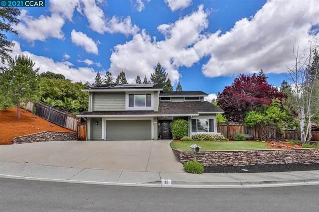 21 Tyson Ct, Danville, CA 94526 (#40947386) :: Blue Line Property Group