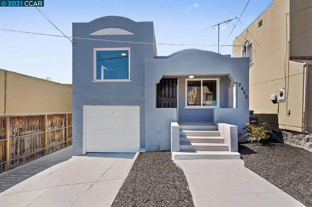 2455 Renwick St, Oakland, CA 94601 (#40948148) :: The Venema Homes Team