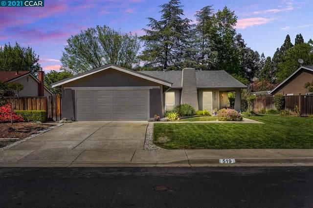 519 Navajo Pl, Danville, CA 94526 (#40948298) :: Blue Line Property Group
