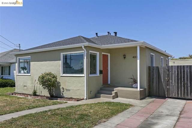 4011 Roosevelt Ave, Richmond, CA 94805 (#40948743) :: The Grubb Company