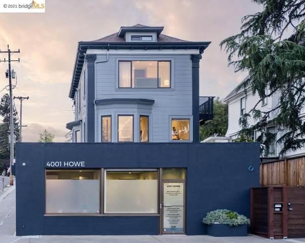 4001 Howe Street, Oakland, CA 94611 (#40953560) :: Swanson Real Estate Team | Keller Williams Tri-Valley Realty