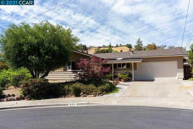430 Barbara Cir, Martinez, CA 94553 (#40953647) :: Blue Line Property Group