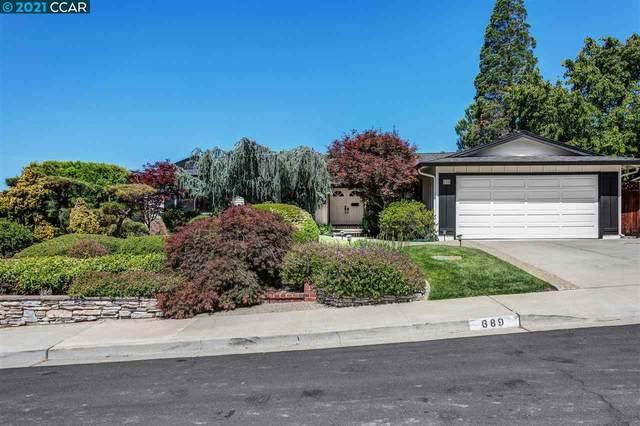 689 Rock Oak Rd, Walnut Creek, CA 94598 (#40954176) :: Sereno