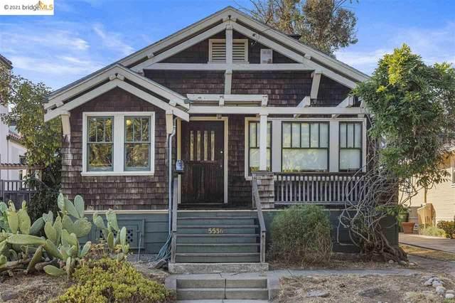 5536 Manila Ave, Oakland, CA 94618 (#40955069) :: MPT Property