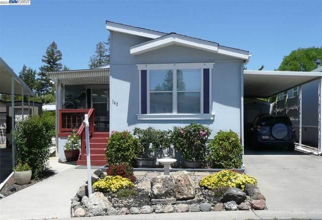 3263 Vineyard Ave., #140 #140, Pleasanton, CA 94566 (#40958225) :: Realty World Property Network