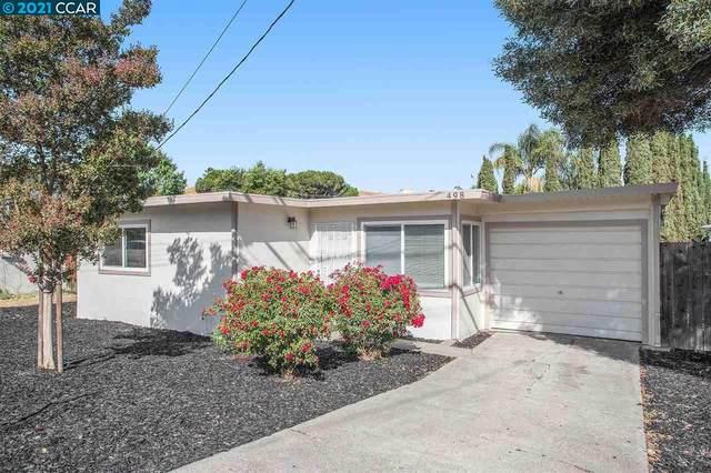498 Arthur Rd, Martinez, CA 94553 (#40958528) :: Realty World Property Network