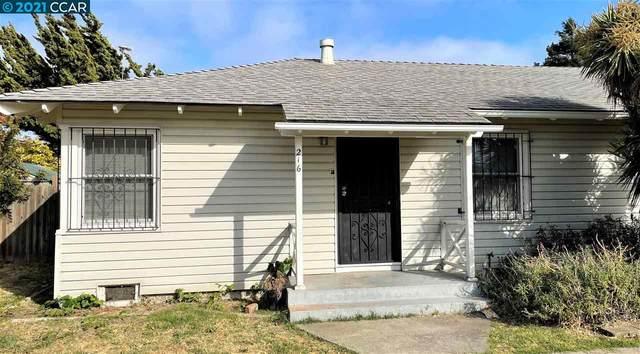 216 Garrard Blvd, Richmond, CA 94801 (#40959186) :: Realty World Property Network
