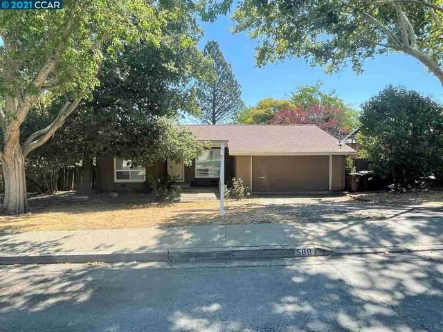 589 Maureen Ln, Pleasant Hill, CA 94523 (#40959507) :: Armario Homes Real Estate Team
