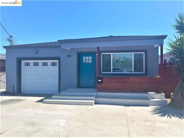 140 S Marina Way, Richmond, CA 94804 (#40959644) :: Realty World Property Network