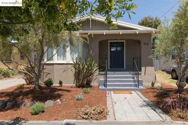 972 40Th St, Oakland, CA 94608 (#40960014) :: Armario Homes Real Estate Team