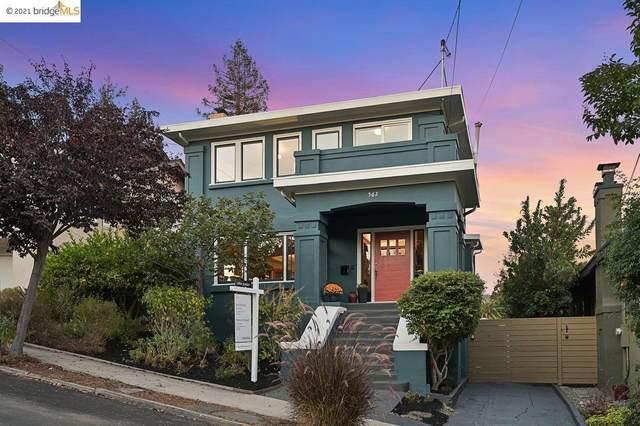 562 Rosal Ave, Oakland, CA 94610 (#40968203) :: The Grubb Company