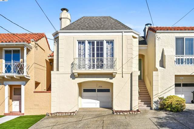 2038 18Th Ave, San Francisco, CA 94116 (#40969978) :: Realty World Property Network