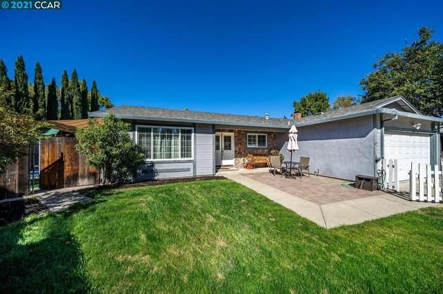 1043 Fox Meadow Way, Concord, CA 94518 (#40969982) :: The Grubb Company