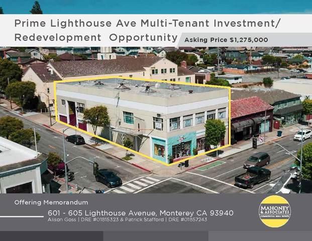 601 Lighthouse Avenue, Monterey, CA 93940 (#ML81769213) :: Armario Venema Homes Real Estate Team